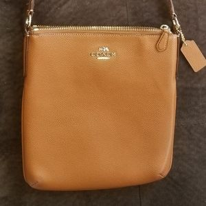 Coach crossbody brown